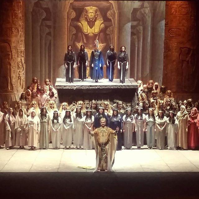 AIDA Teatro Verdi di Pisa 2016