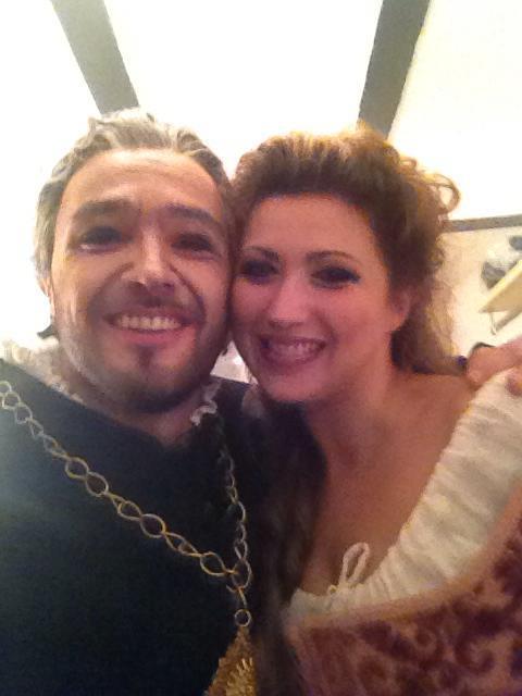 George Andguladze with Desire Rancatore Rigoletto Teatro Reggio di Parma