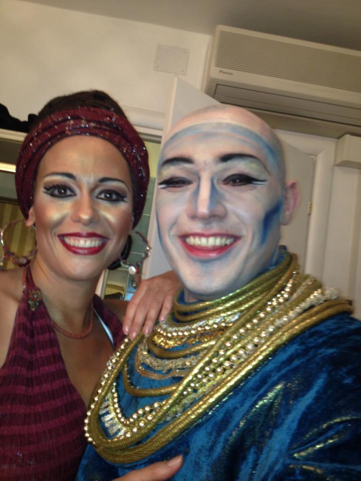 George Andguladze with Susanna Branchini Aida Teatro Regio di Parma 2012