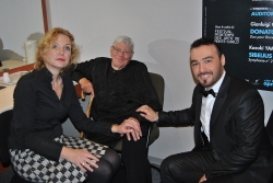 George Andguladze with Anne Schwanewilms and Jeffrey Tate