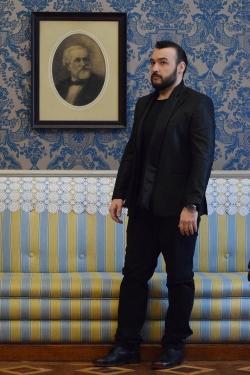 George Andguladze at Sala Barezzi