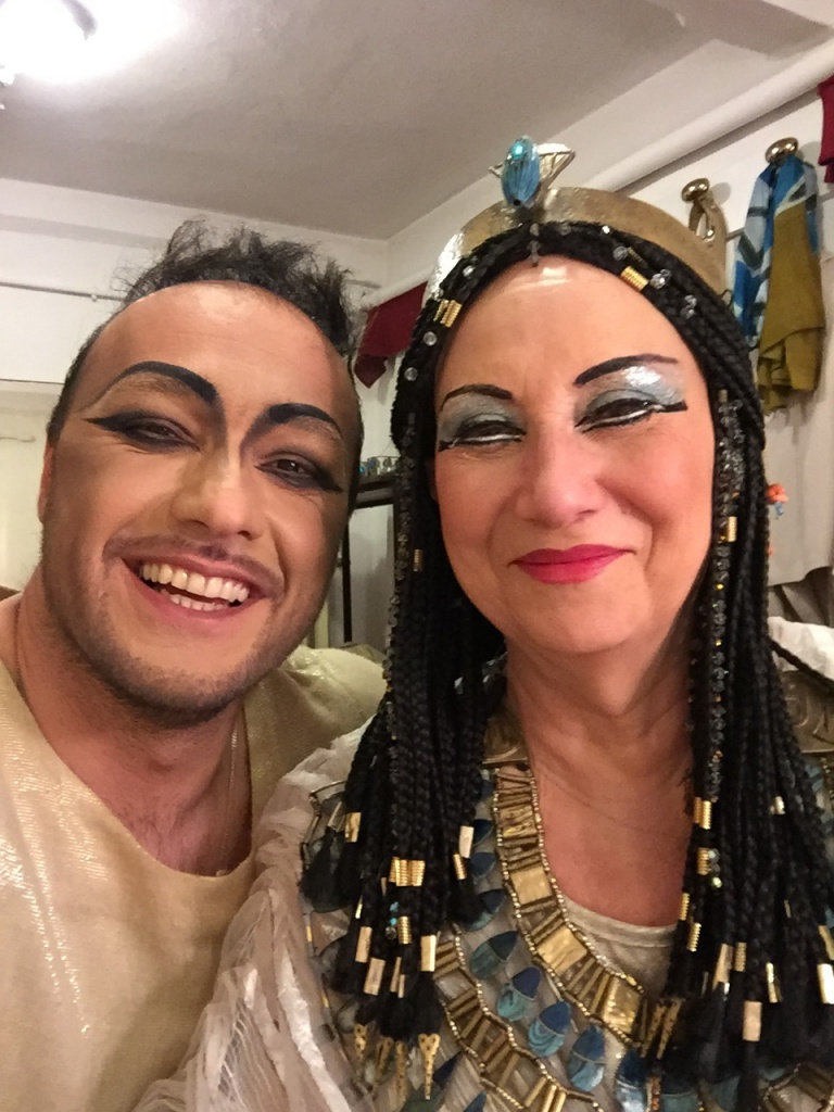 George Andguladze with Giovanna Casolla